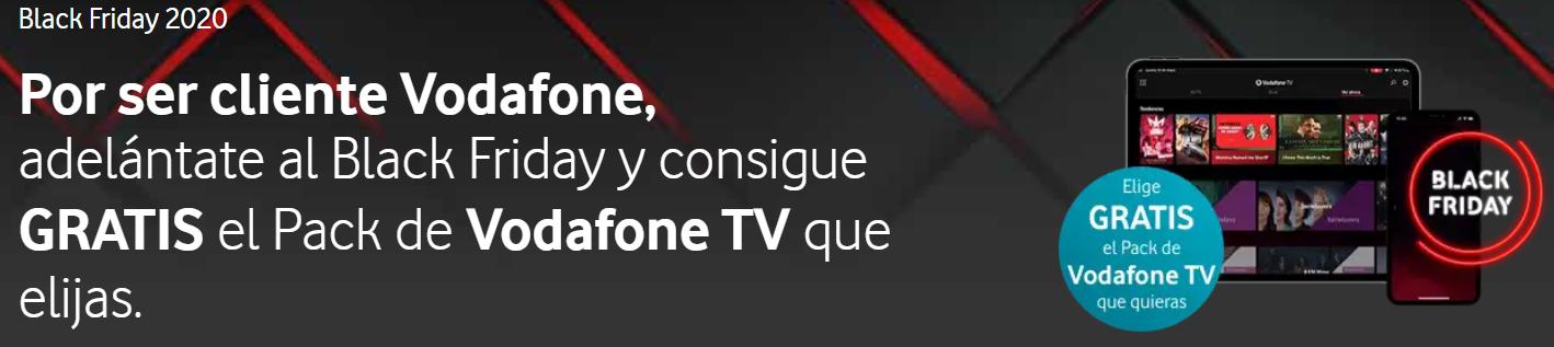 Oferta Black Friday Red Chain Vodafone TV