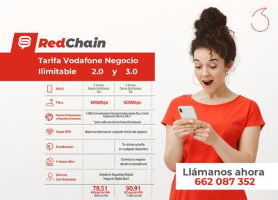 Red-Chain-tarifa-negocio-ilimitable